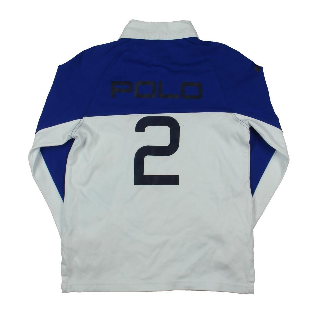 Polo Ralph Lauren Boys Boys Colorblock Rugby Blue S