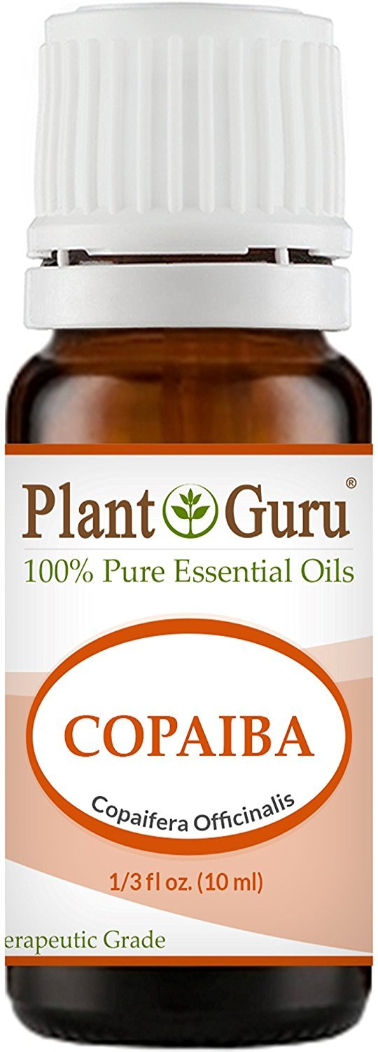 Copaiba Essential Oil 10 ml. 100% Pure, Undiluted, Therapeutic Grade. by Plant Guru: Amazon.es: Hogar