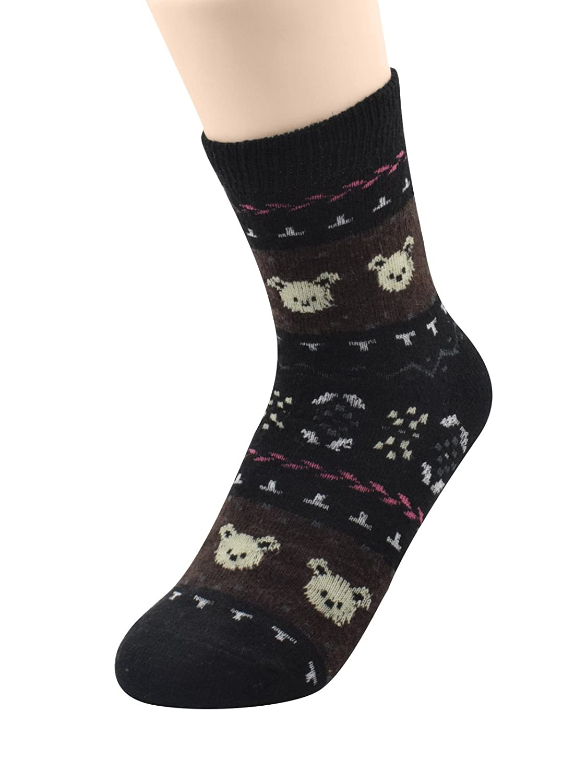 Century Star Womens Thick Autumn Winter Christmas Ultra Light Crew Socks