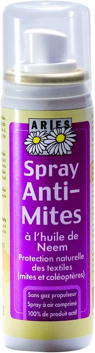 Aries – 4042 mitespr – viaje y Balades – Spray antipolillas textiles – 50 ml