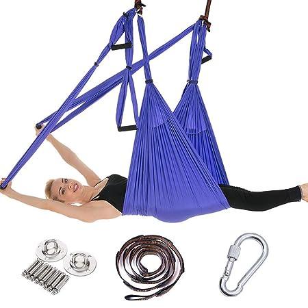 YUJIADC Kit de Hamaca de Columpio de Yoga para Ejercicio ...