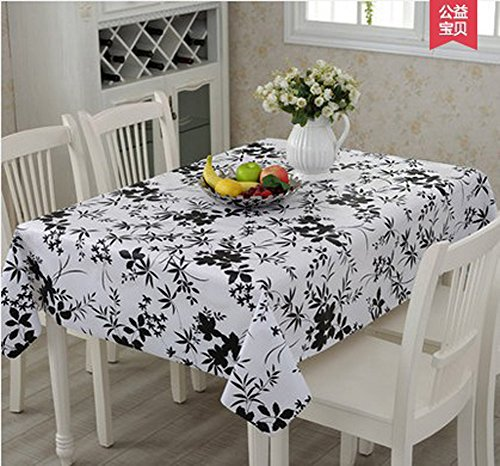 chezmax-home-decorative-table-protector-heat-resistant-moso-bamboo-54-x-708-rectangle-pvc-tablecloth