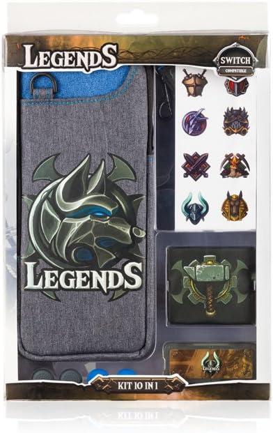 Indeca Legends- Starter pack - kit de accesorios para consola ...