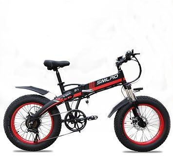 SMLRO S9 bicicleta eléctrica con configuración avanzada – 20 pulgadas 48 V/350 W bicicleta