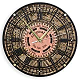 home office layout Big Ben Automaton 1854 Unique Vintage large wooden wall Clock, housewarming, one-of-a-kind, victorian home decor gift