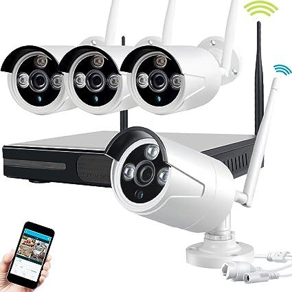 JOOAN TC-734NVR-4K 1.0MP 4x 720P NVR IP de 4 canales CCTV