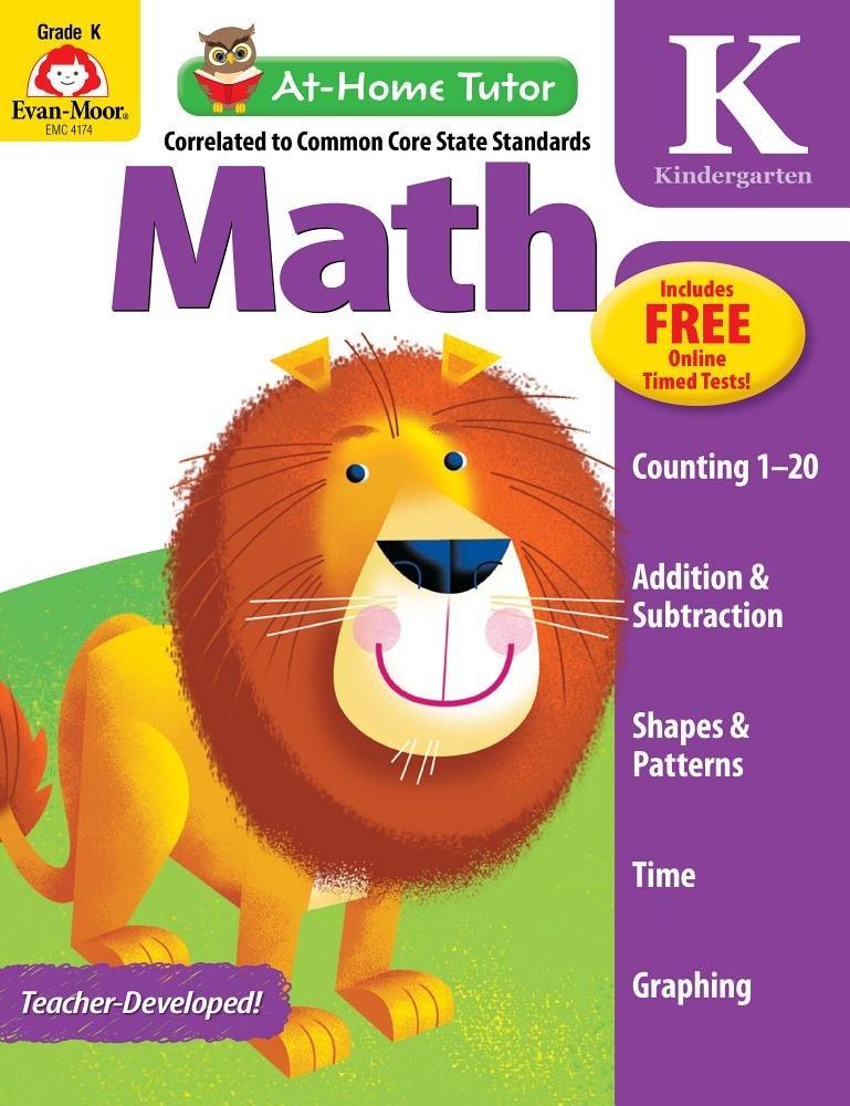 At-Home Tutor: Math, Grade K pdf