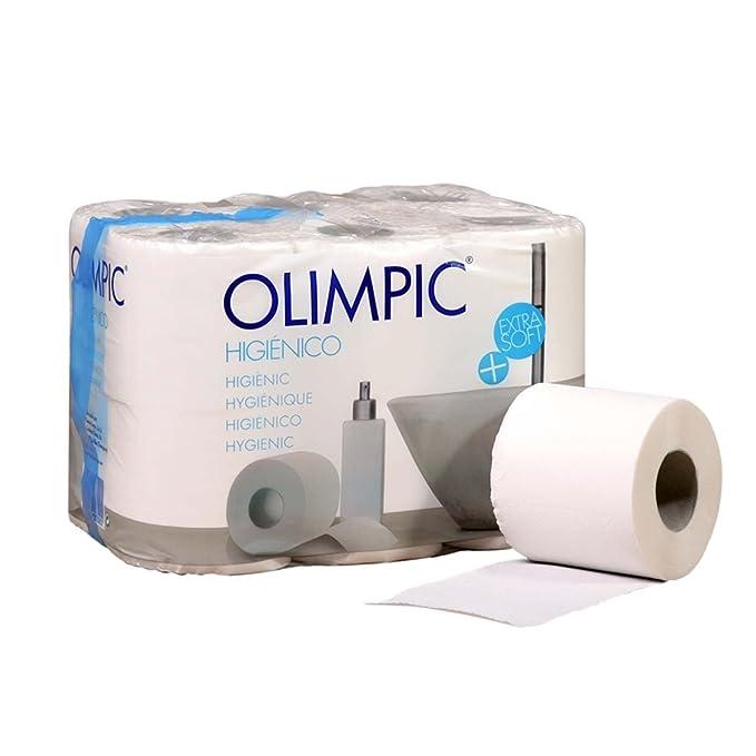 Bunzl Rollos de Papel Higiénico Doméstico - 12 unidades: Amazon.es ...