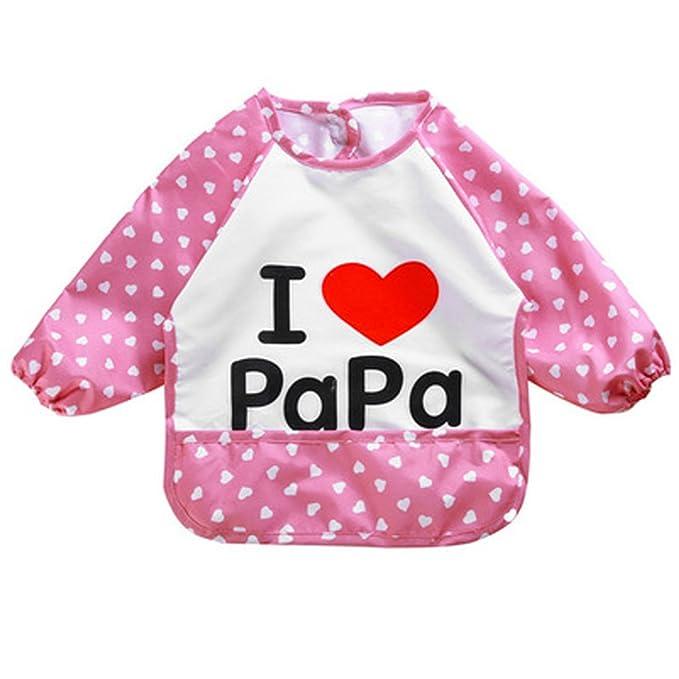 vertvie niños cartas impreso de la mama/Papa abrigo bebé ...