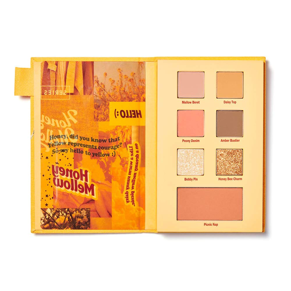 ESPOIR 2020 S/S Look Book Honey Mellow | Vintage Color Combo to Create Easy & Quick Makeup Looks | Limited-Edition Eye Shadow Palette