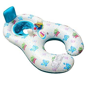 tita-dong inflable bebé flotador flotador barco para entre padres e hijos doble persona asidero barco piscina juguetes, Beige-Fish: Amazon.es: Deportes y ...