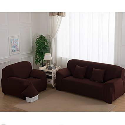 Amazon.com: Stretch Seat Chair Covers Couch Slipcover Sofa Loveseat ...