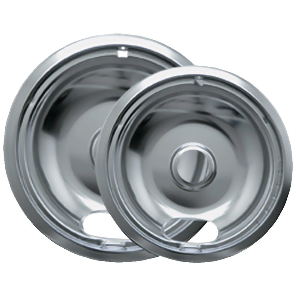 Amazon.com: Range Kleen 12782Xcd5 Style A Chrome Drip Pans, 2-Pack ...