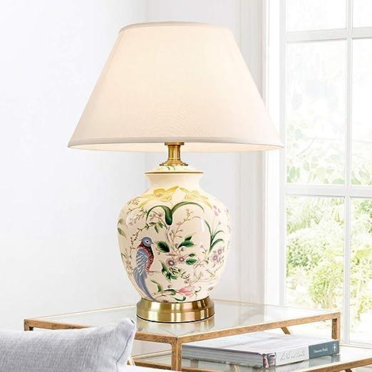 Fin Lampe De Table Céramique Lampes,Orientale Porcelaine