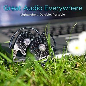 Audeze iSINE10 in Ear | Semi Open Headphone | Standard Cable/3.5 mm