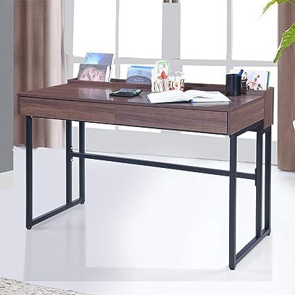 competitive price e7bb2 8b063 Royaloak Bacon Study Desk with Melamine Finish: Amazon.in ...