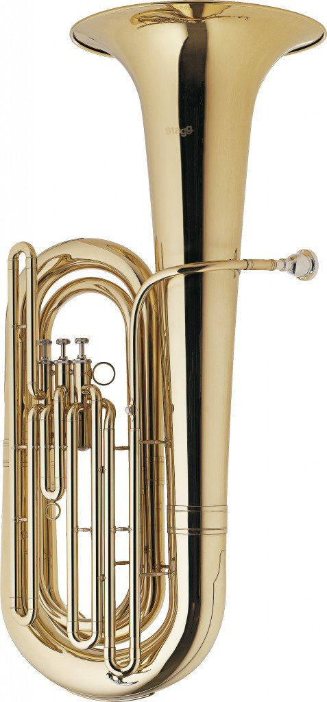 Stagg WS - BT235 Bb Tuba with Case by Stagg
