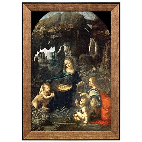 Virgin of the Rocks by Leonardo Da Vinci Framed Art