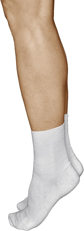 UK taglia 4-8 3 PAIA Donna Nero Stay-UP diabetico Non elastica 99/% Cotone Calzini