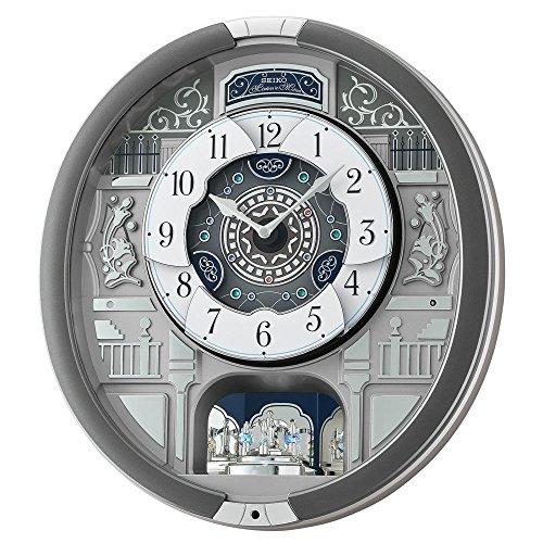 Silver Tone Pendulum - Seiko Plastic Wall Clock (Model: QXM366SRH)