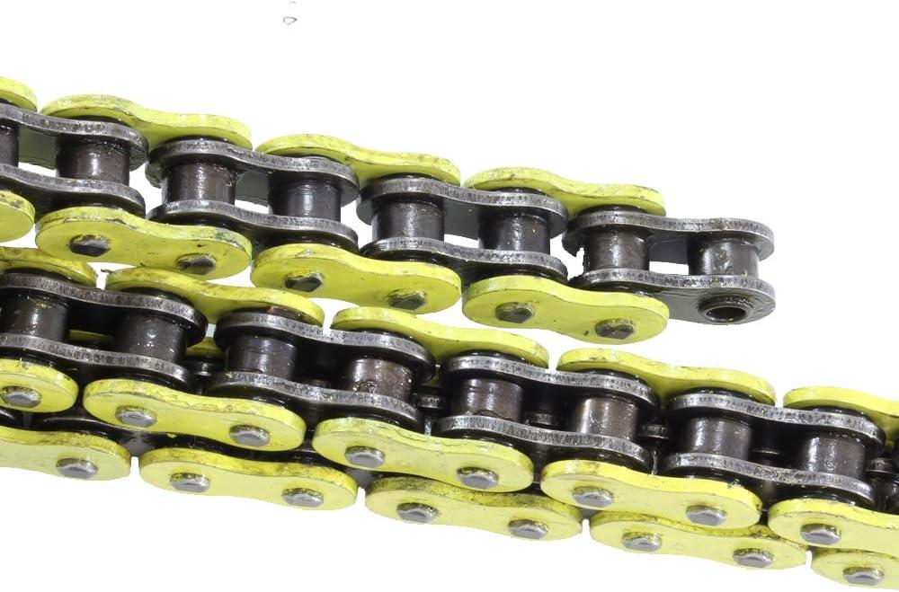 520 Pitch 114 Links Blue Standard Chain for Kawasaki EX650 Ninja 650R 2006 2007 2008 2009 2010 2011 2012