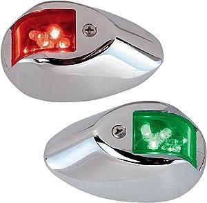 Perko 0602DP1CHR 12V LED Side Lights - Chrome