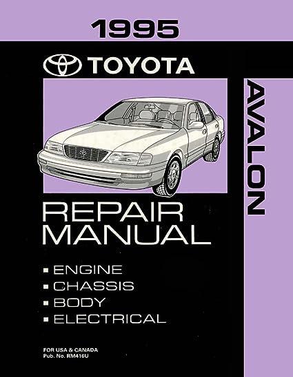 amazon com bishko automotive literature 1995 toyota avalon shop rh amazon com 1995 toyota avalon repair manual free download 1995 toyota avalon repair manual