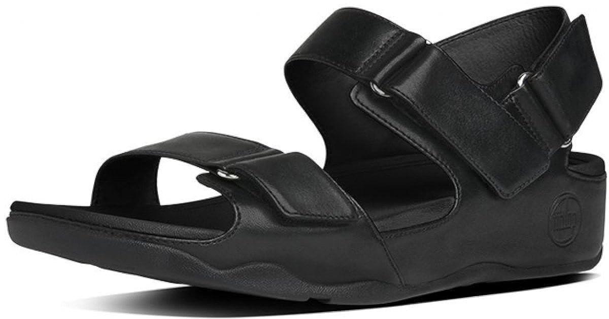e603965ed Fitflop Women s Goodstock S Sandals Black Size  2 UK  Amazon.co.uk  Shoes    Bags