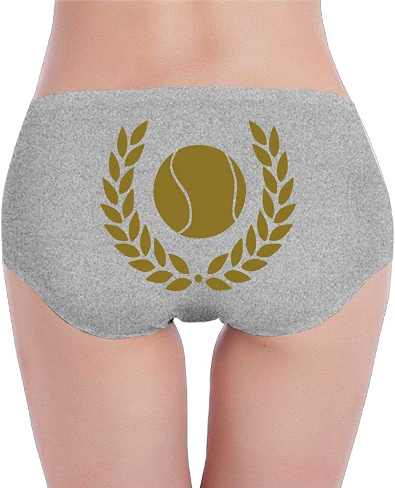 Womens Cotton Underwear Hipster Panties Tennis Ball Breathable Brief