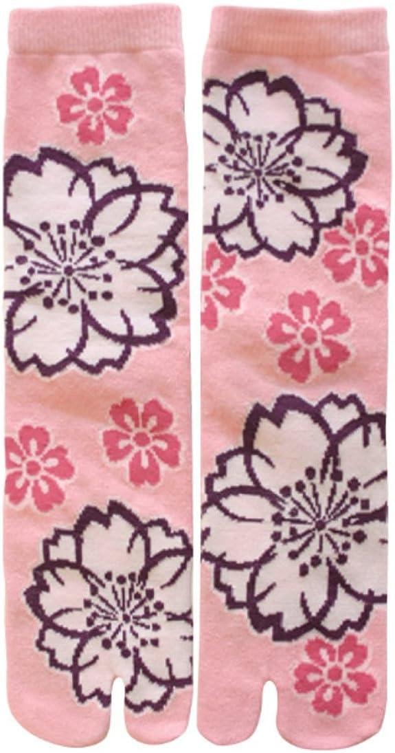 Calze Tabi di Giappone Design Fiori e Sakura
