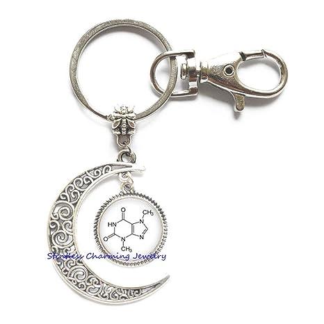 Amazon.com: Chemistry Jewelry Llavero de luna – Llavero de ...
