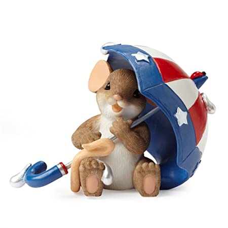 Enesco Charming Tails Let Freedom Reign Figurine, 2.5-Inch