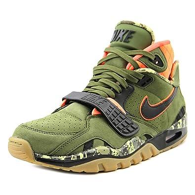huge selection of 6a54d 9d49e NIKE Air Trainer SC II PRM Qs Men Sneaker Green 637804 300, Size40.5