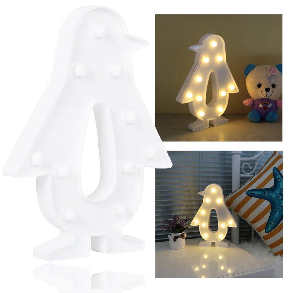 Penfly 1.65M 10LEDs Decorative Penguin Shape Fairy Mood Night String ...
