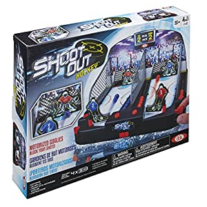 Ideal Motorized Shoot Out Hockey Tabletop Game