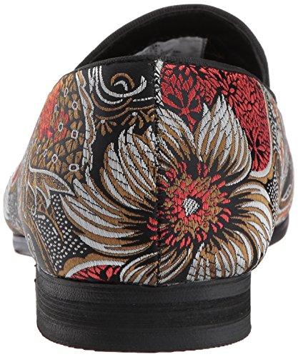 Steve Madden Hombres Cypress Loafer Rojo / Multi
