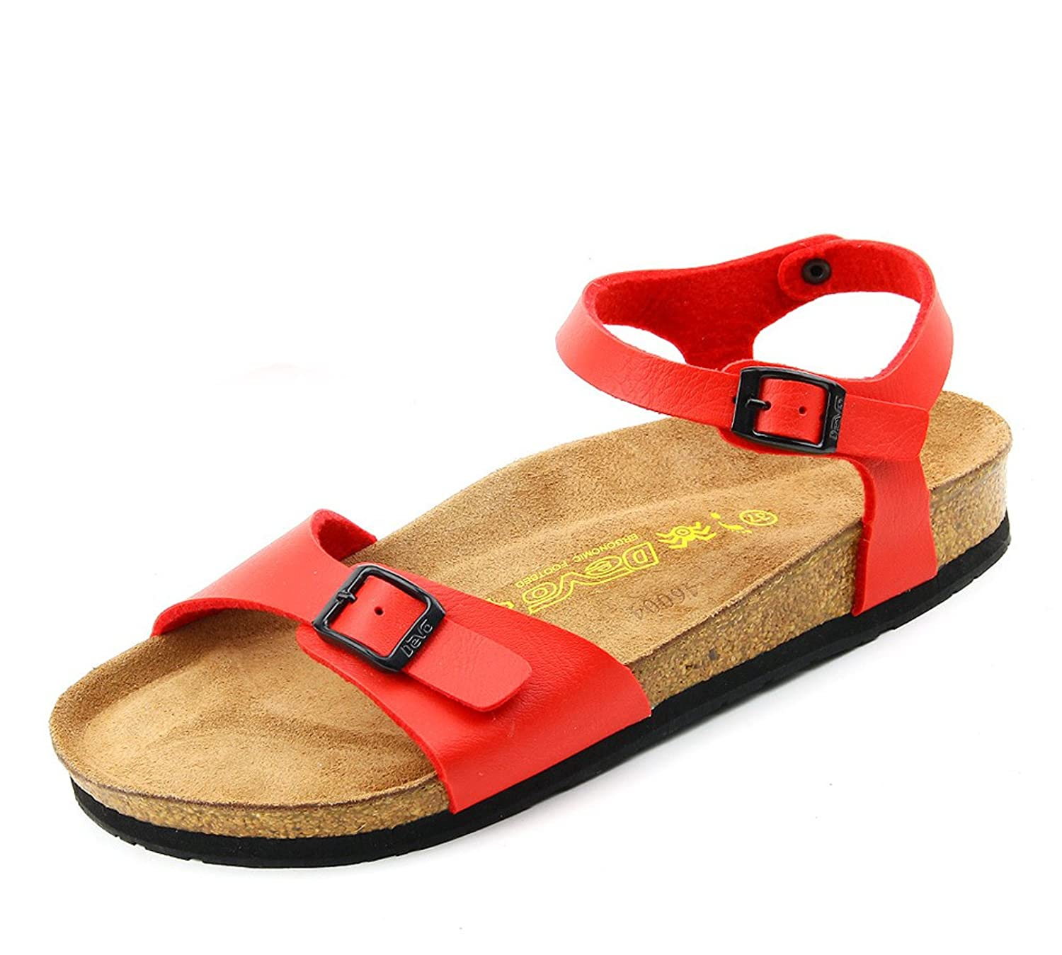 Fashiondiary Women's Beach Buckle Houses Sandals