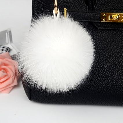 Amazon Gotd Fur Ball Key Chain For Bag Ornaments Decorative