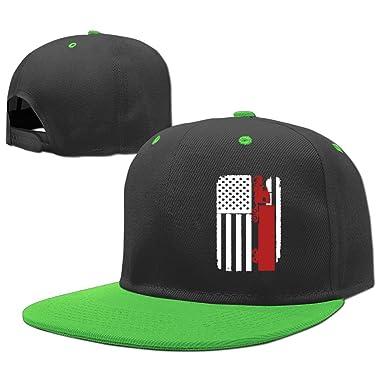 MAKS  QA 1 Boys Girls Adjustable Fashion Trucker Cap Truck Driver Trucker -  US American Flag 6397286133a6