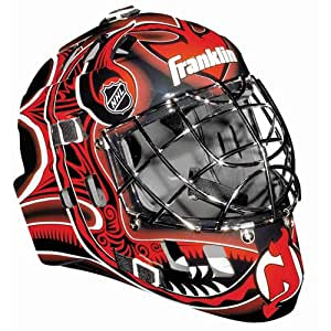 Franklin Sports New Jersey Devils NHL Team SX Comp GFM 100 Goalie Mask