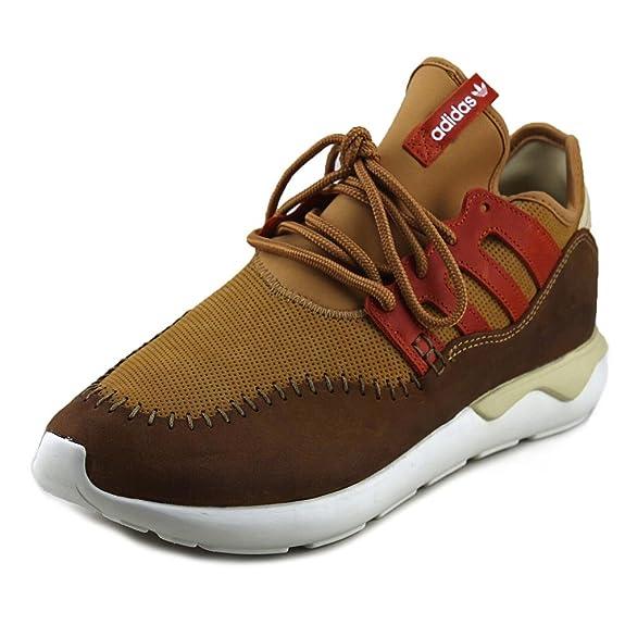 new arrivals 911c5 4f632 Amazon.com | [B24689-] ADIDAS TUBULAR MOC RUNNER MENS SNEAKERS MESA FOXREDM  10.0 M | Fashion Sneakers