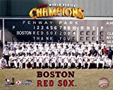 The Wait Is Finally Over! The Boston Red Sox 2004 World Series Champions 8x10 Photo. Team Picture
