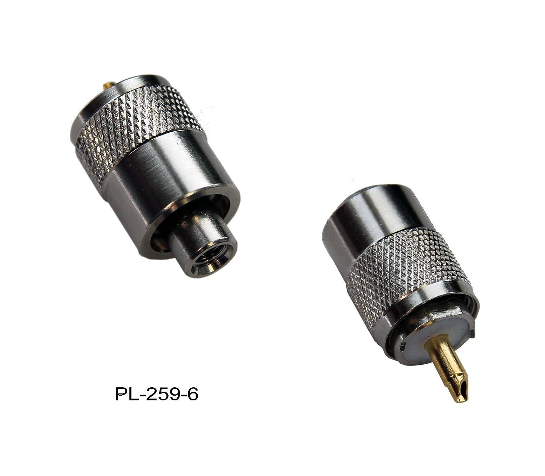 Pl Stecker 259 6 Fr Rg 58u 58 Elektronik Kabel Teplon Rg58