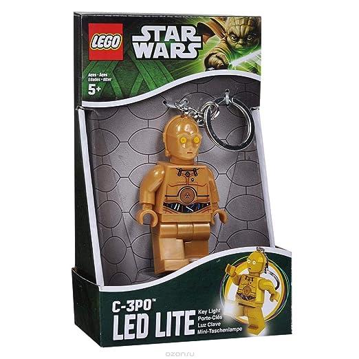 LEGO Star Wars KE18 - Llavero con Linterna, diseño de C-3PO