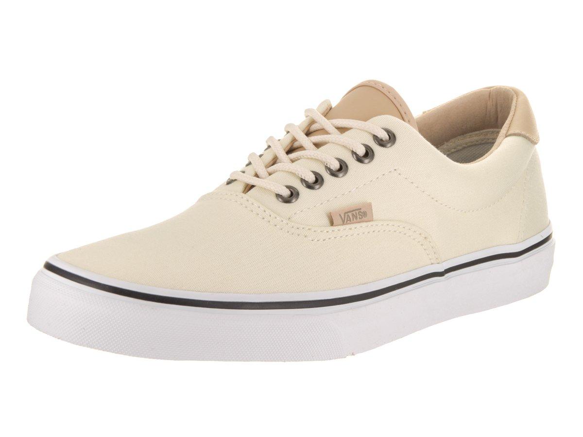 Vans Unisex Era 59 Skate Shoes B01I2626ZU 13.5 B(M) US Women / 12 D(M) US Men|Classic White/True White