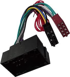AERZETIX - Adaptador cable - Enchufe ISO - Para radio de ...