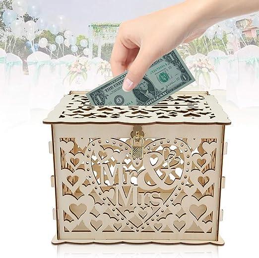 Caja de tarjetas con llaves Bricolaje regalo de dinero Caja ...