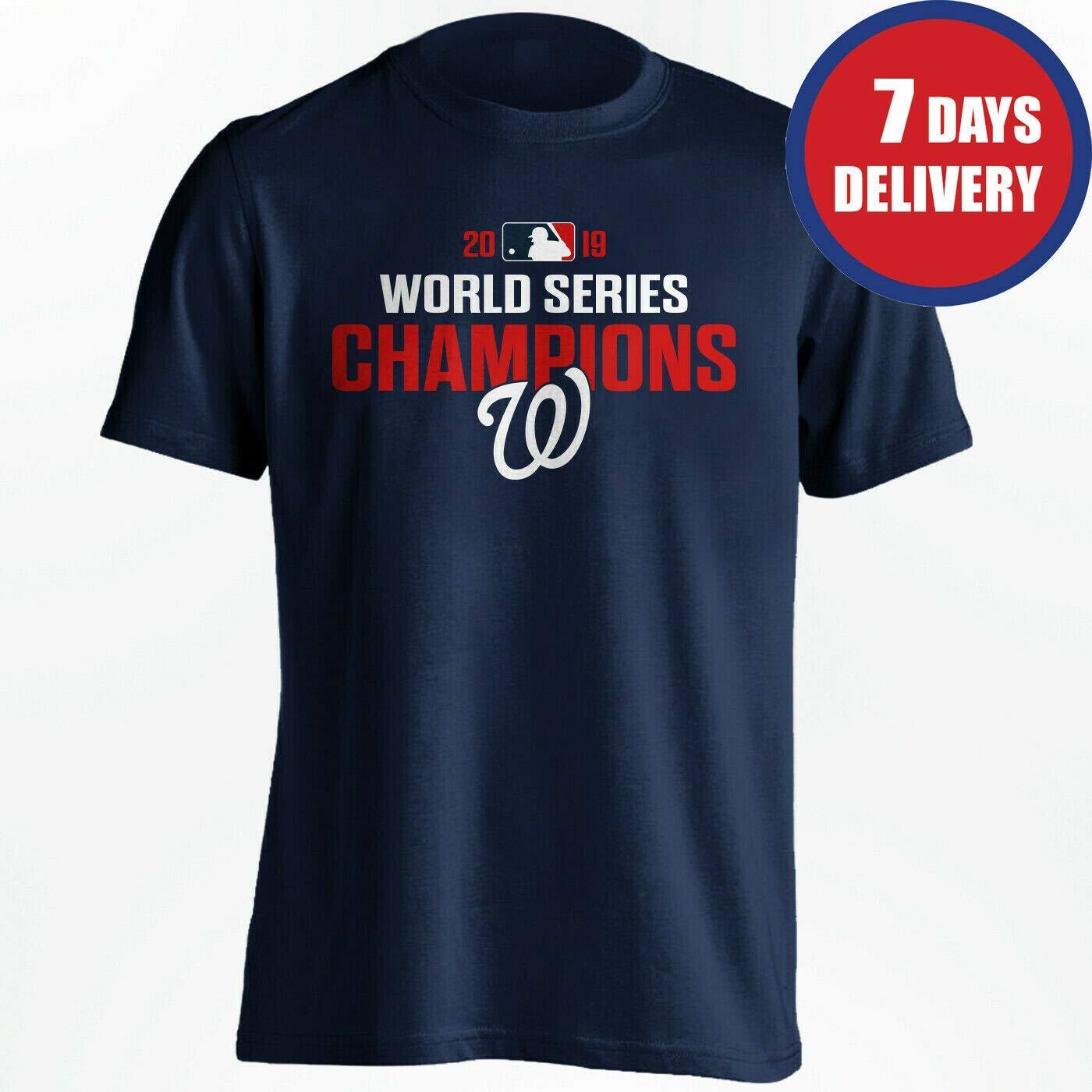 funny world series champions 2019 washington nationals Tshirt