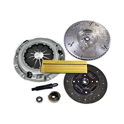 Amazon.com: EFT HEAVY-DUTY CLUTCH KIT+FLYWHEEL fits 2001-2005 KIA RIO; RIO5 CINCO 1.5L 1.6L: Automotive