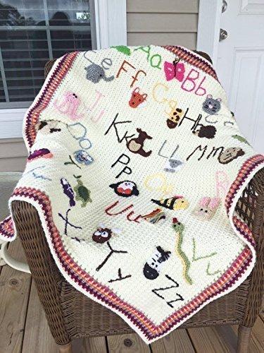 Crochet Animal Alphabet Blanket